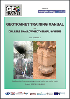 Geotrainet Training Manual for Drillers